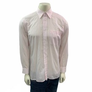 Christian Dior Striped Pink Button Down Shirt